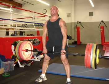 Базовая техника тяги сумо