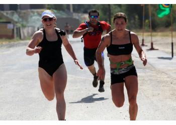 Бег - одно из упражнений кроссфита